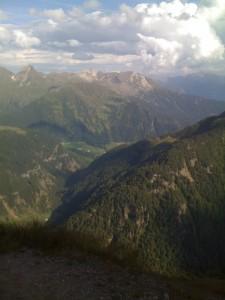 südliche Auffahrt Timmelsjoch